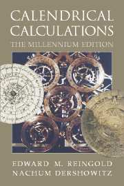 Calendrical Calculations Millennium edition