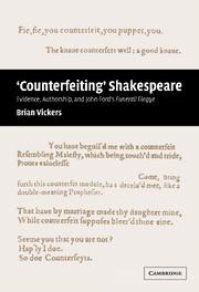 'Counterfeiting' Shakespeare