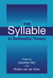 The Syllable in Optimality Theory