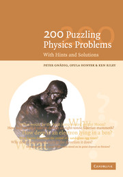 200 Puzzling Physics Problems