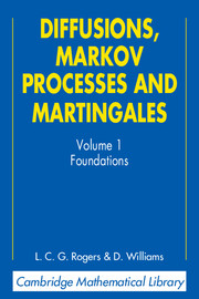 Diffusions, Markov Processes, and Martingales