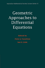 Geometric Approaches to Differential Equations