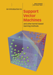 An Introduction to Support Vector Machines and Other Kernel-based