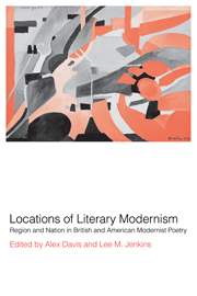 Locations of Literary Modernism