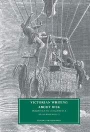 Victorian Writing about Risk