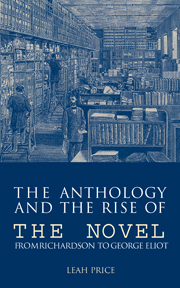 The Anthology and the Rise of the Novel
