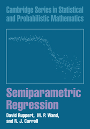 Semiparametric Regression