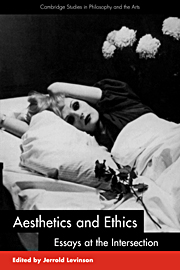 Aesthetics and Ethics
