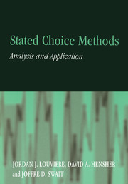 Stated Choice Methods