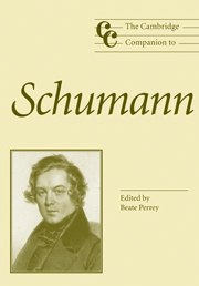 The Cambridge Companion to Schumann