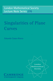 Singularities of Plane Curves