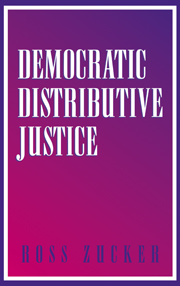 Democratic Distributive Justice