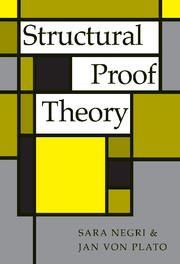 Structural Proof Theory