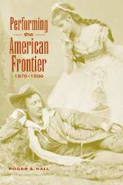 Performing the American Frontier, 1870–1906