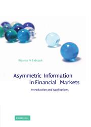 Asymmetric Information in Financial Markets