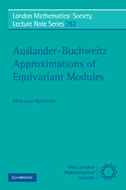 Auslander-Buchweitz Approximations of Equivariant Modules