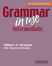 Grammar in Use Intermediate Workbook without Answers