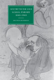 Aestheticism and Sexual Parody 1840–1940