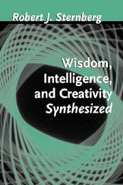 The Propulsion Theory Of Creative Contributions Chapter 5 Wisdom Intelligence And Creativity Synthesized