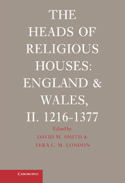 The Heads of Religious Houses