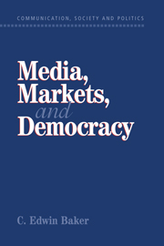 Media, Markets, and Democracy