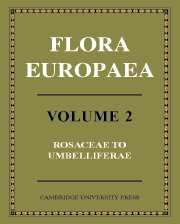 Flora Europaea 5 Volume Set and CD-ROM Pack
