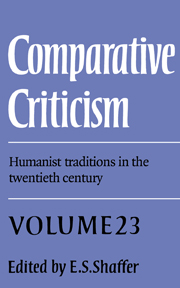 Comparative Criticism
