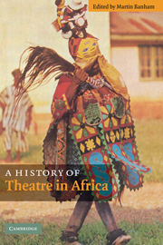 A History of Theatre in Africa