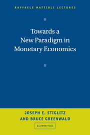 Towards a New Paradigm in Monetary Economics