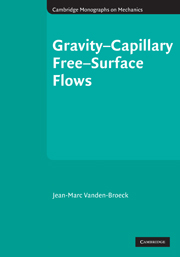 Gravity–Capillary Free-Surface Flows