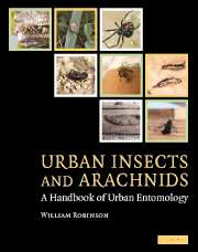 Urban Insects and Arachnids
