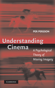 Understanding Cinema By Per Persson