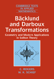 Bäcklund and Darboux Transformations