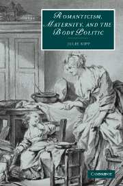 Romanticism, Maternity, and the Body Politic