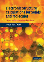 Electronic Structure Calculations for Solids and Molecules