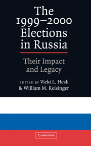 The 1999–2000 Elections in Russia