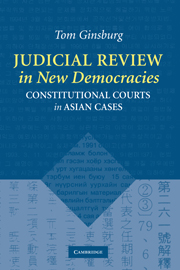 Judicial Review in New Democracies