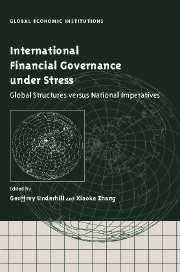 International Financial Governance under Stress