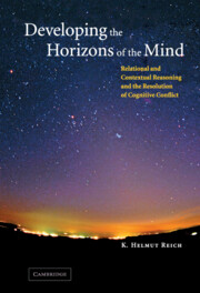 Developing the Horizons of the Mind