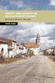 Liberty and Locality in Revolutionary France