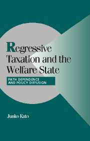 Regressive Taxation and the Welfare State