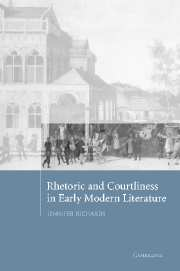 Rhetoric and Courtliness in Early Modern Literature