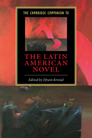 The Cambridge Companion to the Latin American Novel