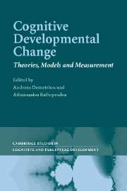 Cognitive Developmental Change