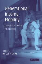 Generational Income Mobility in North America and Europe
