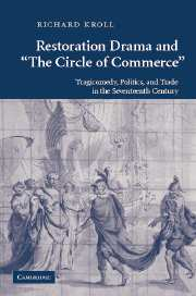 Restoration Drama and 'The Circle of Commerce'