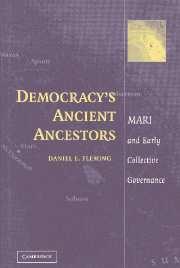 Democracy's Ancient Ancestors