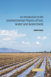 An Introduction to the Environmental Physics of Soil, Water and Watersheds
