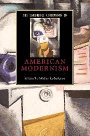 Cambridge companion to american modernism essay
