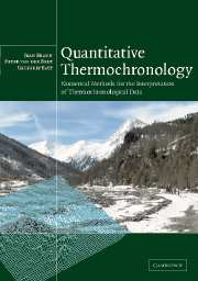 Quantitative Thermochronology